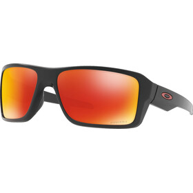 Oakley Double Edge Matte Black/Prizm Ruby Polarized